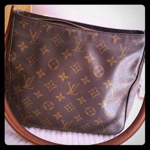 GENUINE Louis Vuitton monogram purse handbag